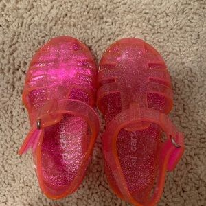 Carters jelly sandals.